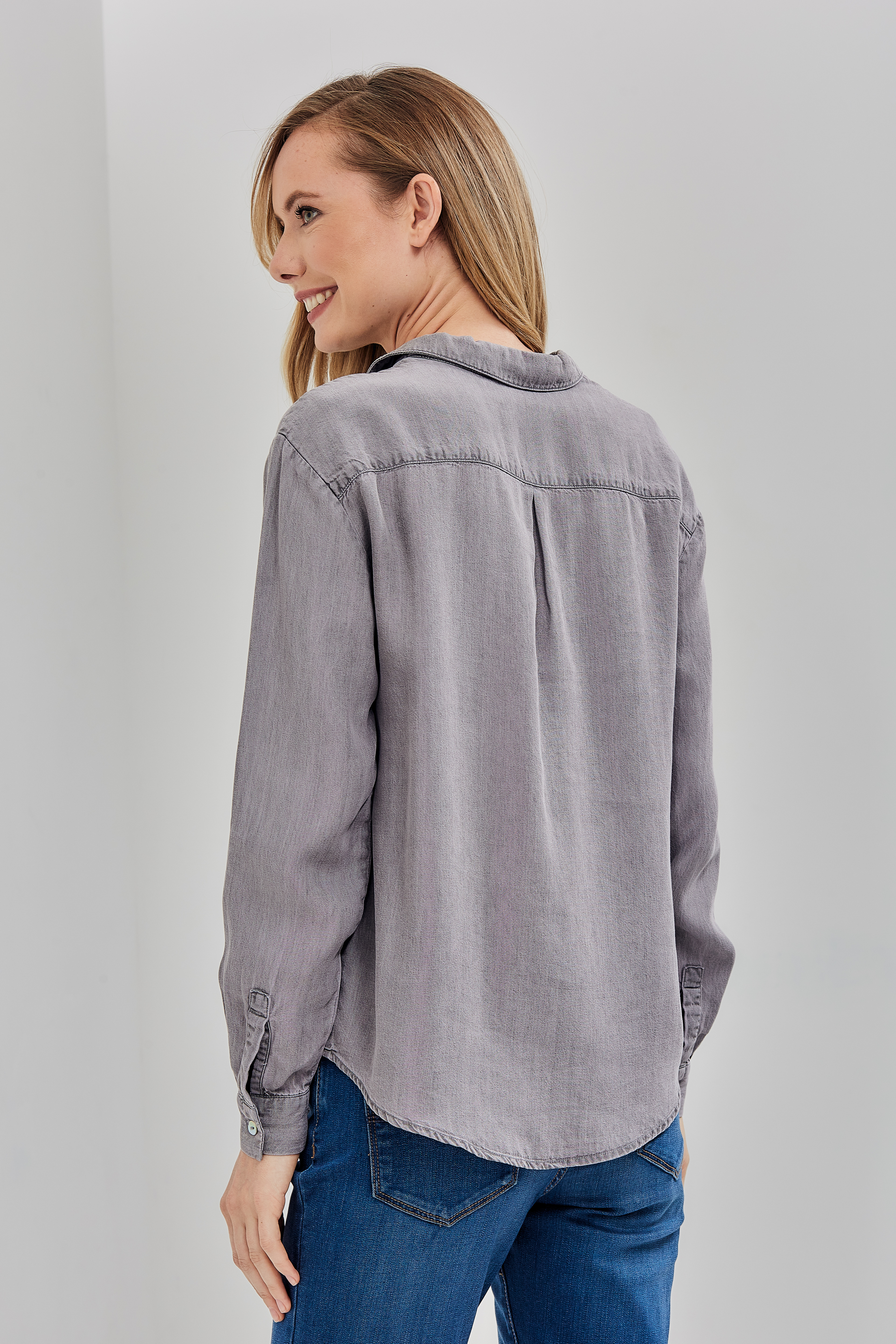 Блузка LS 1170 DENIM_GREY