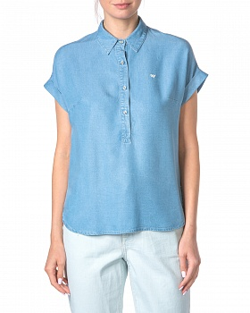 Блузка SS 1169 LIGHT_BLUE