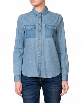 Блузка LS 1298 DENIM_BLUE